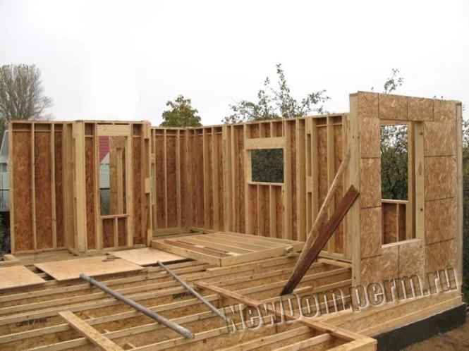 Каркасные дома на винтовых фундаментах Информационный портал о строительстве и ремонте